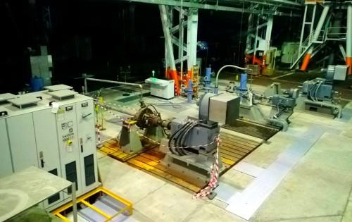 Sala prove per pompe centrifughe