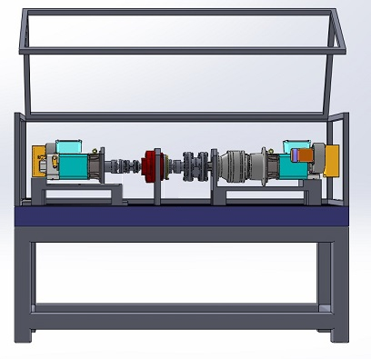 Test bench for low backlash gearboxes