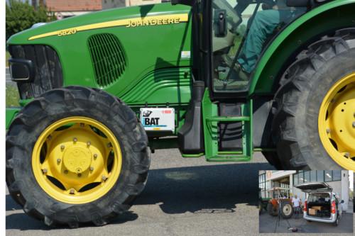 Banco prova freni trattori